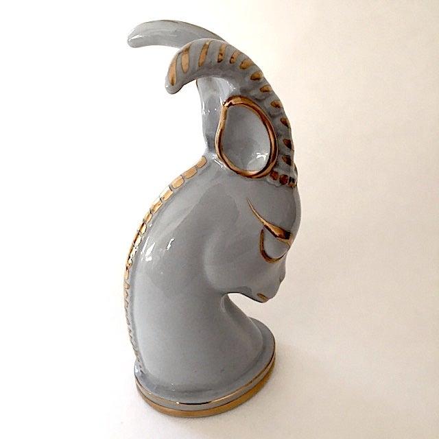 Image of Vintage Ceramic Gazelle Bust