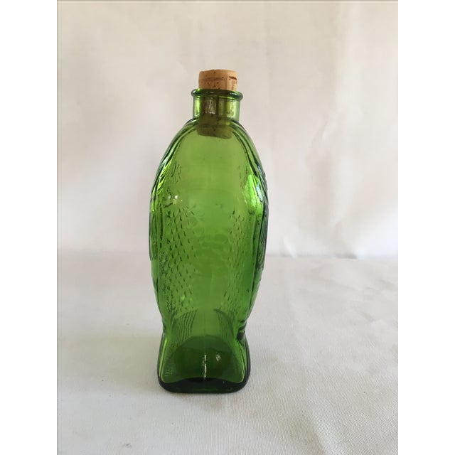 Green Dr. Fisch's Bitters Bottle, Reproduction - Image 3 of 6