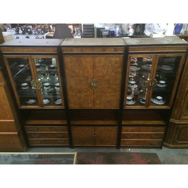Century Asian-Style Entertainment Center Cabinet - Image 2 of 11