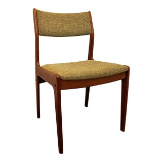 Mid-Century Danish Modern Teak Side Dining Office Chair