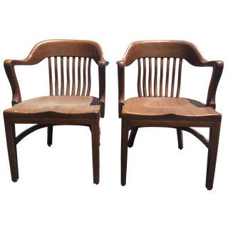 Gunlock Wayland Banker's Chairs - A Pair