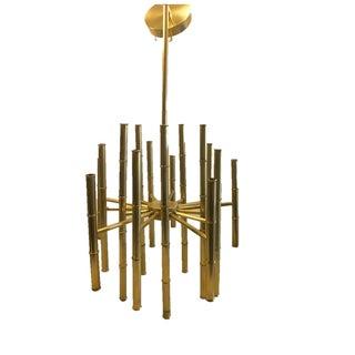 Jonathan Adler Meurice Brass Chandelier