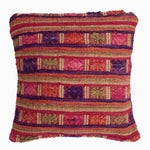Image of Vietnamese Quilted Pink Tai Pillow