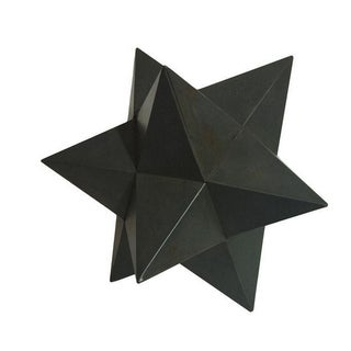 Modern Metal Star Sculpture