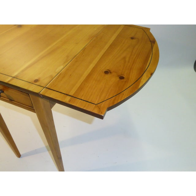 Charming Maryland Pine Pembroke Table - Image 9 of 11