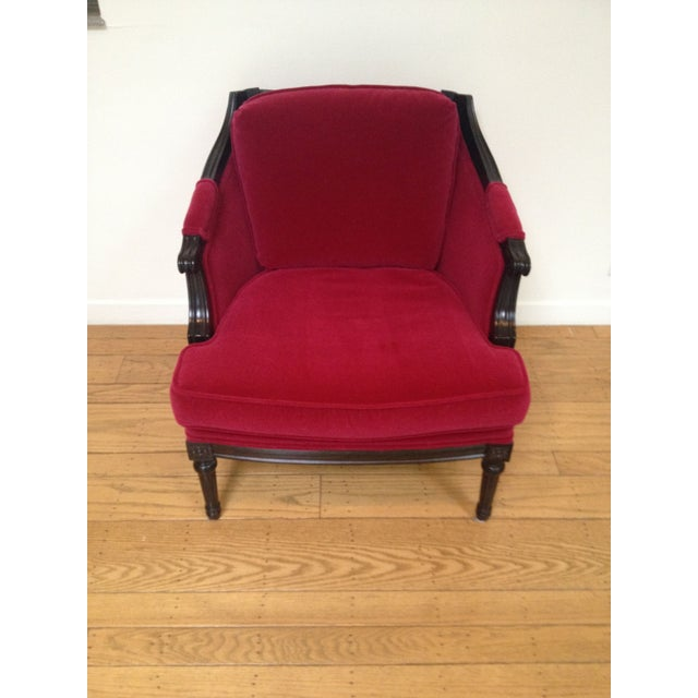 Vintage Mohair Club Chairs - A Pair - Image 3 of 6