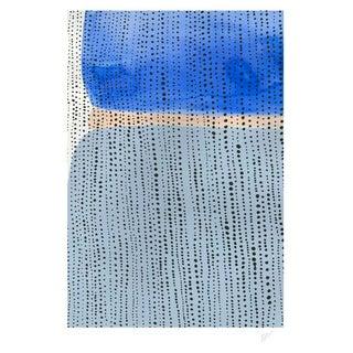 """Shorelines V Watercolor Print - Perspective B - 11"""" x 14"""""""
