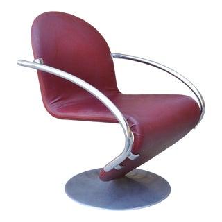 Vintage Mid Century Modern Verner Panton Fritz Hansen Chair
