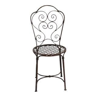 Iron Work Bistro Chair