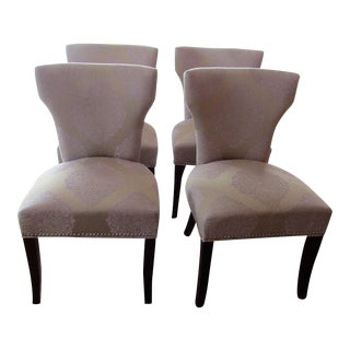Classic Upholstered Dining Chairs - Set of 4