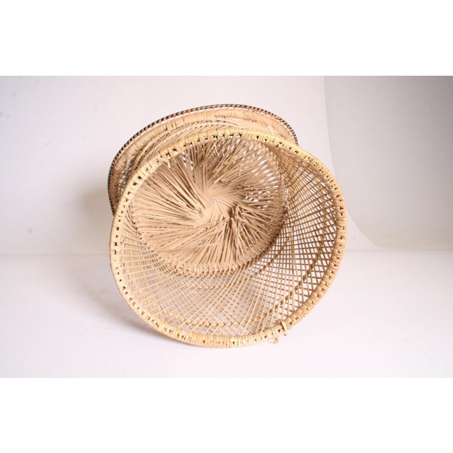 Vintage Boho Chic Wicker Pod Chair - Image 11 of 11