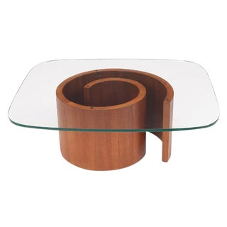 Vladimir Kagan Snail Coffee Table
