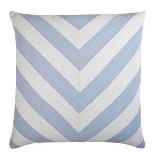 "Piper Collection Stone Cotton ""Ryan"" Pillow"