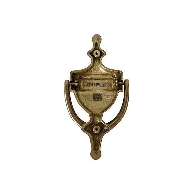 """Engraved Door Knocker """"Miller"""" - Image 6 of 6"""