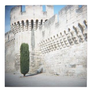 'Avignon Walls' Toy Camera Image