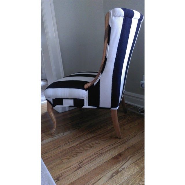 Image of Mid-Century Modified Wingback Chair