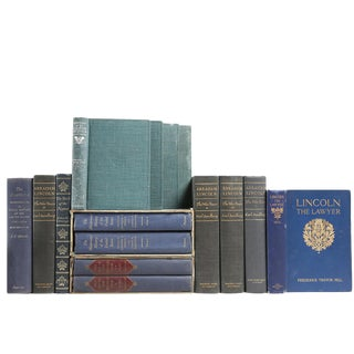 Blue American History Book Selections - Set of 15