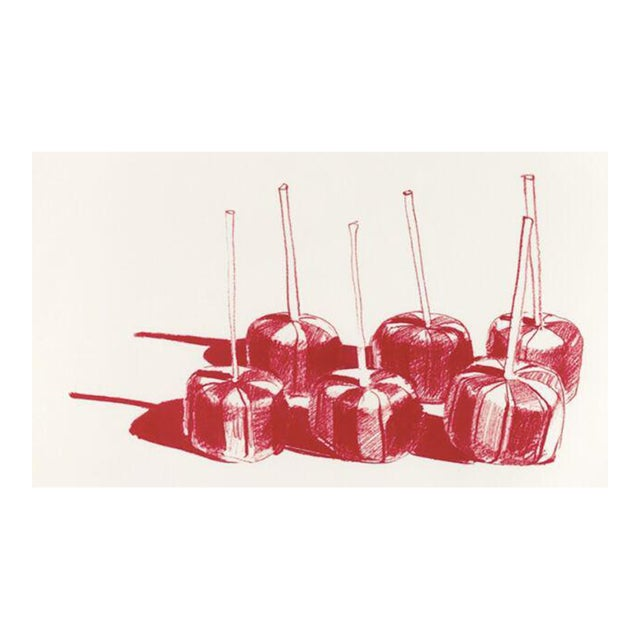 Suckers, State II lithograph by Wayne Thiebaud - Image 1 of 3