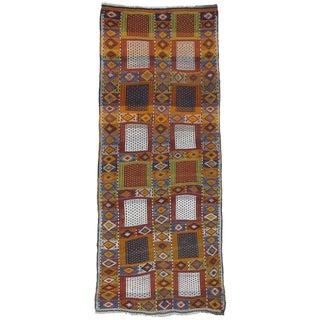 """Southeast Anatolian """"Jijim,"""" Long Rug"""