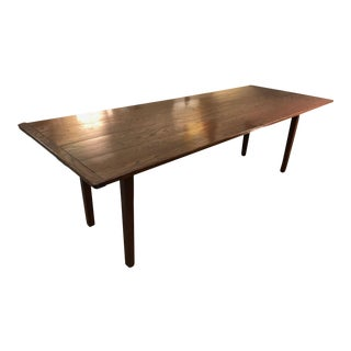Long Antique Farm Harvest Table - 97 inches