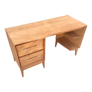 Vintage Mid-Century Wood Desk