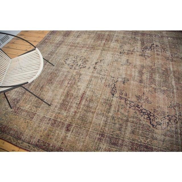 "Antique Persian Kerman Carpet - 9' X 13'1"" - Image 10 of 10"