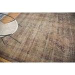 "Image of Antique Persian Kerman Carpet - 9' X 13'1"""