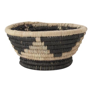Black Triangles Catchall Basket