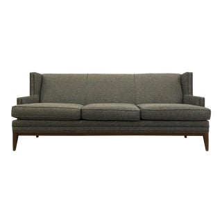Gray Wood Framed Tasha Sofa