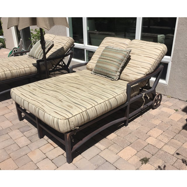 Outdoor Double Chaise - Image 2 of 9