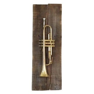 Vintage Mounted Trumpets