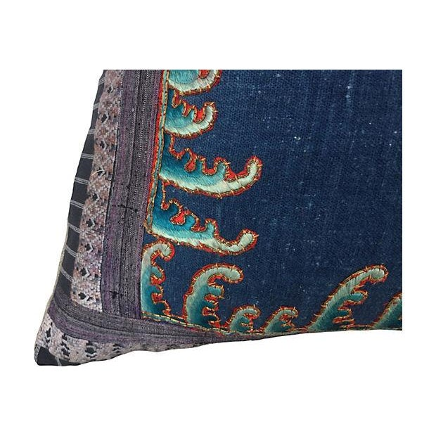 Chinese Opera Embroidered Dragon Pillow - Image 5 of 7