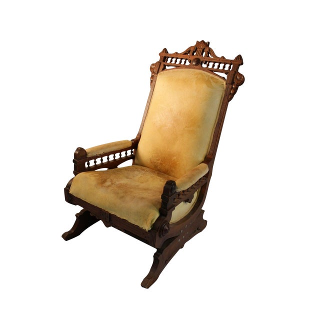 Vintage Secret Society Rocking Chair - Image 1 of 7
