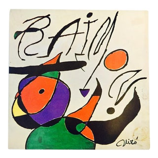 1979 Miro Printed Record Art