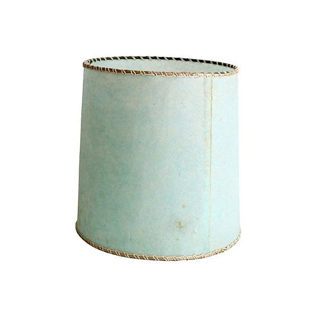 Image of Vintage Baby Blue Table Lamp