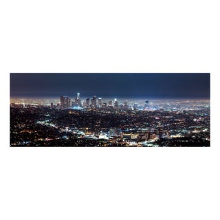 """""""Downtown Los Angeles"""" Floating Photo Print"""