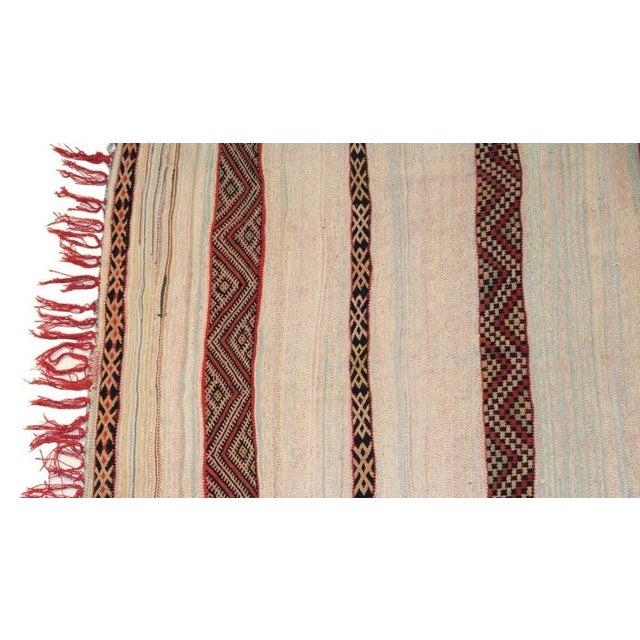 "Vintage Hand Woven Azilal Carpet - 7' X 4'7"" - Image 2 of 4"