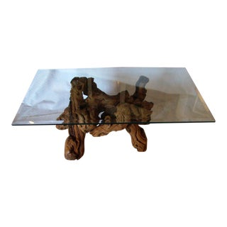Vintage Grapevine Coffee Table