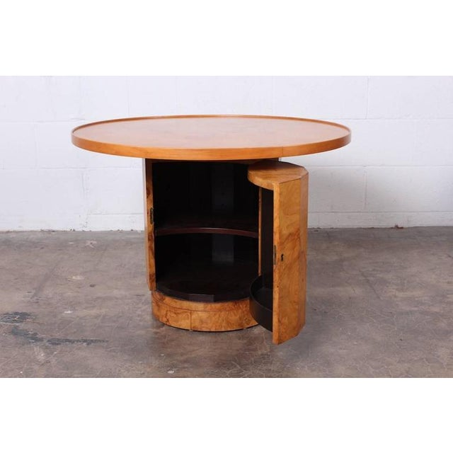 Burl Bar Cabinet / Table by Edward Wormley for Dunbar - Image 4 of 10