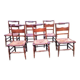 Hitchcock Style Chairs - Set of 6