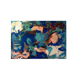 Sag Pond Mixed Media on Canvas