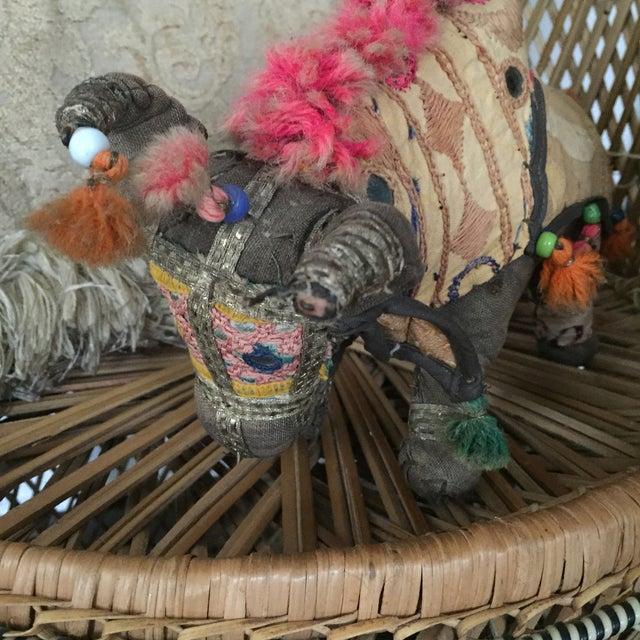 Antique Indian Boho Chic Yak Doll - Image 9 of 9