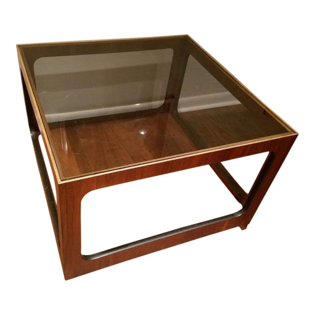 Lane Teak Coffee Table - Image 1 of 3