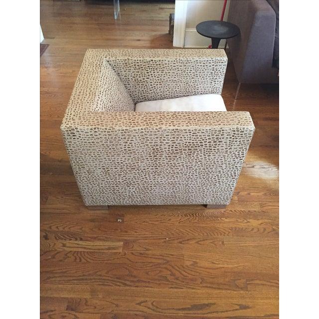 Minotti Suitcase Chairs Pair Chairish