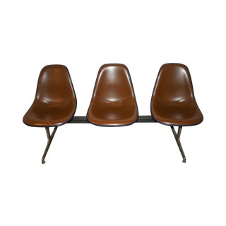Vintage Eames Tandem Bench Chair
