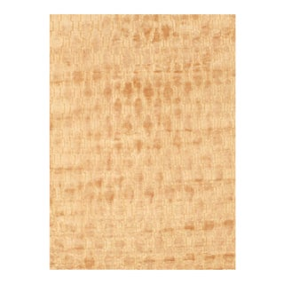 Pasargad NY Modern Hand Knotted Silk Rug - 4′3″ × 5′11″