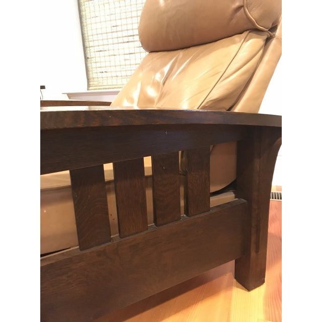 Stickley Mission Recliner Chair - Image 4 of 6