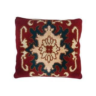Floral Design Moroccan Pillow