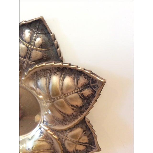 Metal Floral Candle Holder - Image 6 of 6