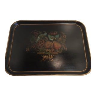 Tole Painted Melamine Serving Tray by KYS-ITE